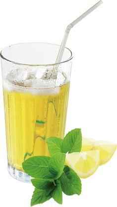 Neu im Sortiment. Getränkepulver für erfrischenden Zitrone-Minze Ice-Tea.    http://www.nahrin.ch/de/kuechenprodukte/ice-tea-zitrone-minze