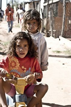 Children of the favela. Campinas, Brazil