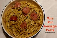 One Pot Sausage Pasta Recipe