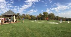 A beautiful day for trap shooting at the UL Golf Club!