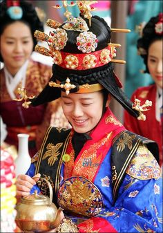 Ku Hye-sun as Queen Jeheon (So Hwa) in The king and I : korean TV series.