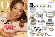 Simple Life in Oprah Magazine.. Ebru Marble Ceramic Cutting Board.