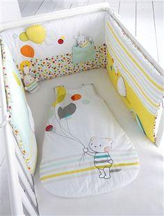 Protector de cuna bebé especial estimulante, Habitación bebé