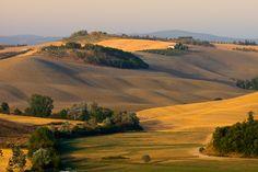 As paisagens da Toscana são de perder o fôlego.