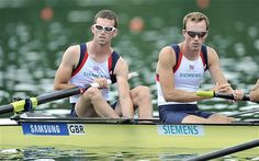 London 2012 Olympics: Peter and Richard Chambers fight to make Games rowing glory a family affair