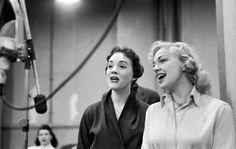 1957 Cinderella- Rehearsal with Alice Ghostley, Kaye Ballard, Julie Andrews and Ilka Chase