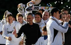Mourinho Champion in Spain (La Liga) in Real Madrid