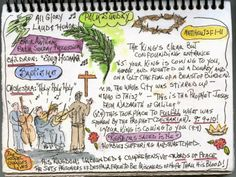 WATERCOLORS sermons captured visual note-taking style