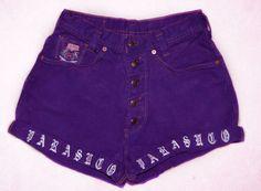 High Waist Purple Parasuco Shorts. $14