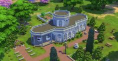 Stills from The Sims 4: Build Mode Official Gameplay Trailer / #thesims #thesims4