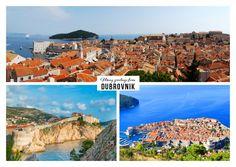 viele Grüsse aus Dubrovnik   Urlaubsgrüße   Echte Postkarten online versenden…