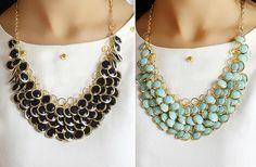 GroopDealz | Cute Bead Necklace - 4 Colors!