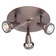 Access Lighting Mirage 3 Light Semi-Flush Mount Finish: Bronze