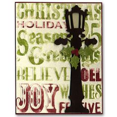 Holiday Card 50 Tim Holtz Texture Stamp Die