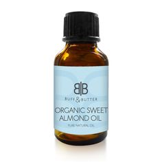 100% Pure Organic Sweet Almond Oil 10ml,25ml,50ml,100ml