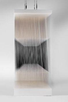 Nylon Cube by Jesus Soto, at Reina Sofia in Madrid