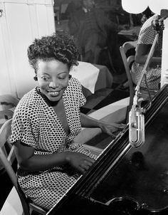 Mary Lou Williams was not only present for nearly every development in jazz music — she was influential to most of them. In her compositions, arrangements, piano playing, and teaching, she constantly advanced jazz music. American Women, African American History, Jazz Artists, Jazz Musicians, Local Artists, Music Artists, Women In History, Black History, Durham