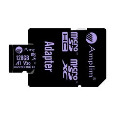 128 GB Ultra High Speed 667X 100MB//s UHS-1 XC Flash Memory Storage for HD//UHD//4K Videos Computers Amplim 128GB V30 A1 SDXC SD Card U3 UHS-I Class 10 Extreme Pro Camcorders Cameras 128G