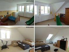 Původní podoba prvního a druhého pokoje