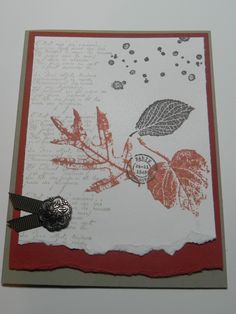 French Foliage Stampin' Up!