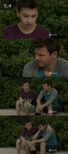 """#TheFosters 3x03 """"Deja Vu"""" - Jude and Connor"""