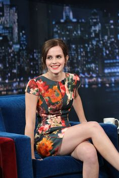 Let's see those jazz hands! Emma Watson shows Jimmy Fallon her moves