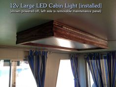 DIY | 12v Large LED Cabin Light via mlawse instructables