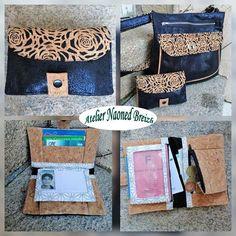 Atelier Naoned Breizh sur Instagram: Portefeuille #compère patron de chez #sacôtin en coordonné avec le sac à main #Polka