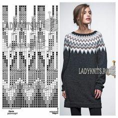 gitka holubova's media content and analytics Fair Isle Knitting Patterns, Fair Isle Pattern, Knitting Charts, Sweater Knitting Patterns, Lace Knitting, Knitting Stitches, Knit Patterns, Tejido Fair Isle, Punto Fair Isle