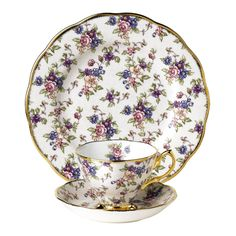 More English Chintz; I need to get another set of this plate and cup/saucer. This is part of their 100 Years of Prince Albert series; 1940, English Chintz