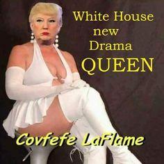 The Donald in drag! Donald Trump, John Trump, Caricatures, Satire, Mafia, Trump Cartoons, Political Cartoons, Drama Queens, Republican Party
