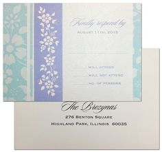 Floral Fascination #Wedding #Invitation