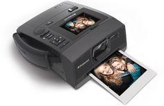 A digital camera, with Polaroid magic.