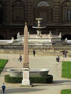Egyptian obelisk from Villa Medici in Rome, Boboli Gardens, Florence