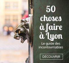 Guide to 50 things to do in Lyon Road Trip France, France Travel, Bon Plan Lyon, Week End En Europe, Week End Lyon, Lyon City, Week End En Amoureux, Museum Hotel, France