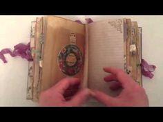 Junk Journal Junkies Vintage Valentine/Romance Swap Received from Christina Frazier - YouTube