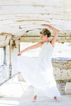 Wedding dress by Michael Polkanov