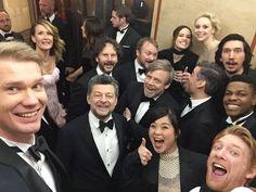 Cast Selfie   Star Wars: The Last Jedi <<< I JUST SAW IT AND IM EMOTIONALLY TRAUMATISED. HELP ME.