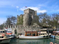 Anadoluhisarı (Anatolian Castle) is a fortress located in Istanbul, Turkey on the Anatolian (Asian) side of the Bosporus, which also gives its name to the quarter around it.