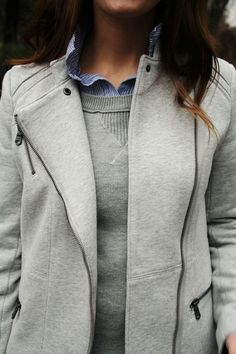 tailored sweats.