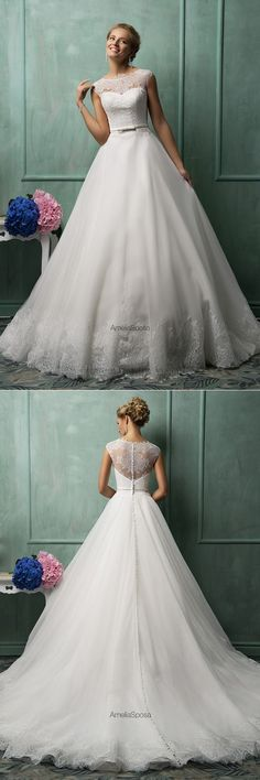 wedding dresses 2016 lace ballgown princesses strapless 2017