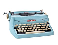 Royal Quiet De Luxe typewriter. Found it on the street a while back. Accidentally just discovered it's worth 350 bucks. Glad I didn't dump it when I decluttered! It looks really cute on my desk.