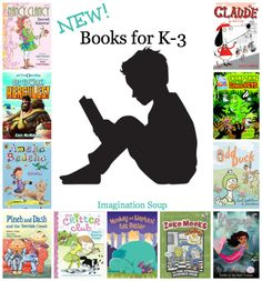 awesome new early chapter books and easy readers recommended by Melissa of Imagination Soup