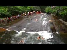 Sliding Rock, North Carolina - YouTube