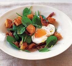 Spinach, Bacon & Egg Salad (BBC Good Food)
