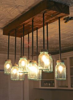 They're ideal for cabins or for homes h country decor. Here we have 15 DIY mason jar lights ideas with pictures which is easy to make and looks awesome on any occasion.