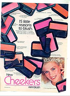 1986 cover girl ads  