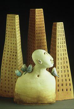 Ceramic sculpture by Amanda Shelsher