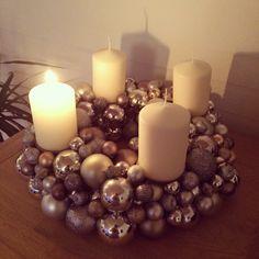 Pillar Candles, Xmas, Christmas, Navidad, Noel, Natal, Candles