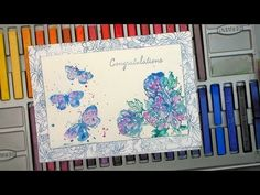 Hi Friends! I am beginning to feel like a game show host with all of the fun giveaways lately! Up for grabs today are the butterfly and peony stamps I used in my video and a $10 gift certificate to...